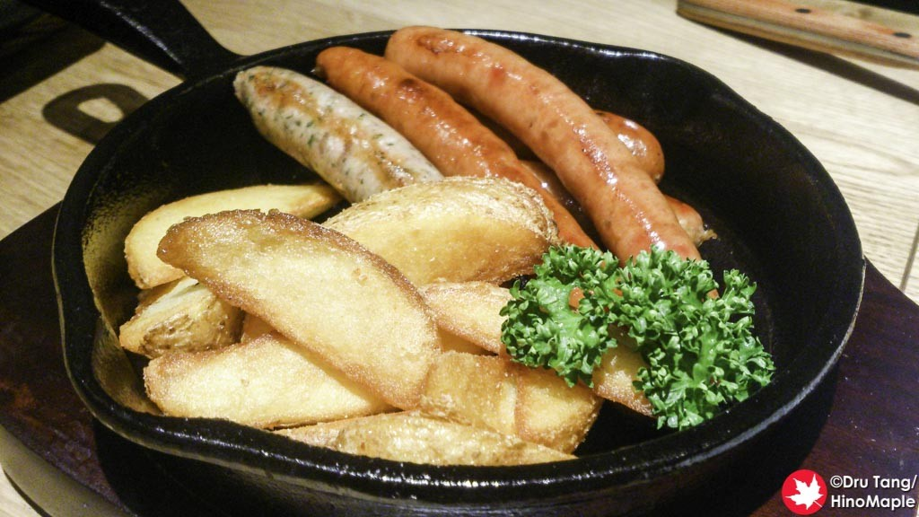 Sausages and Fries