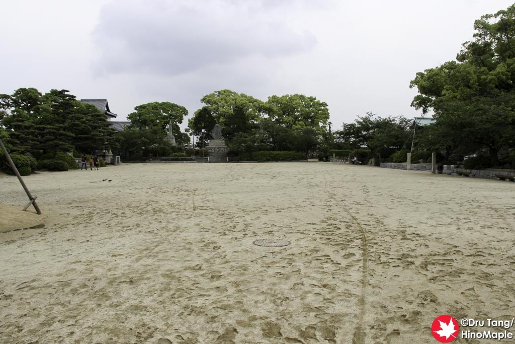 Central Courtyard of Imabari Castle