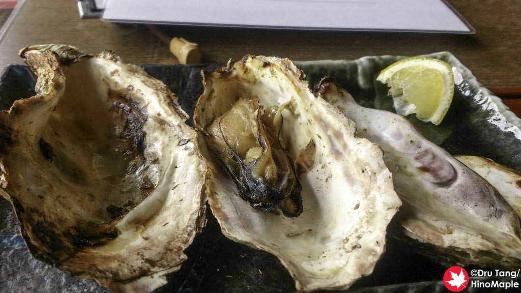 Ise Kadoya Grilled Oysters