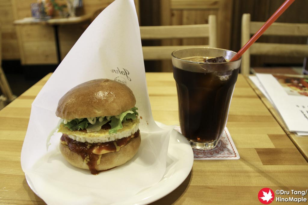 JOHN Burger & Cafe (Cheeseburger with Egg)
