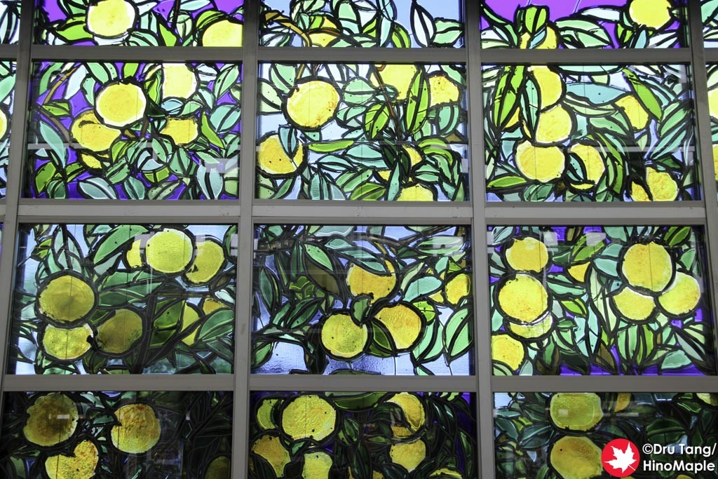 Mikan Stain Glass Window