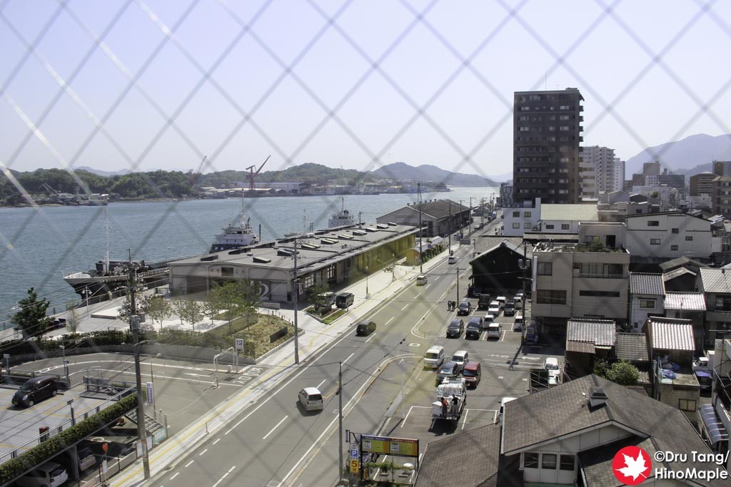 View from the Onomichi Daiichi Hotel