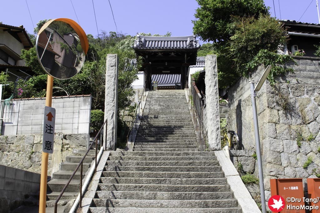 Stairs to Saihoji