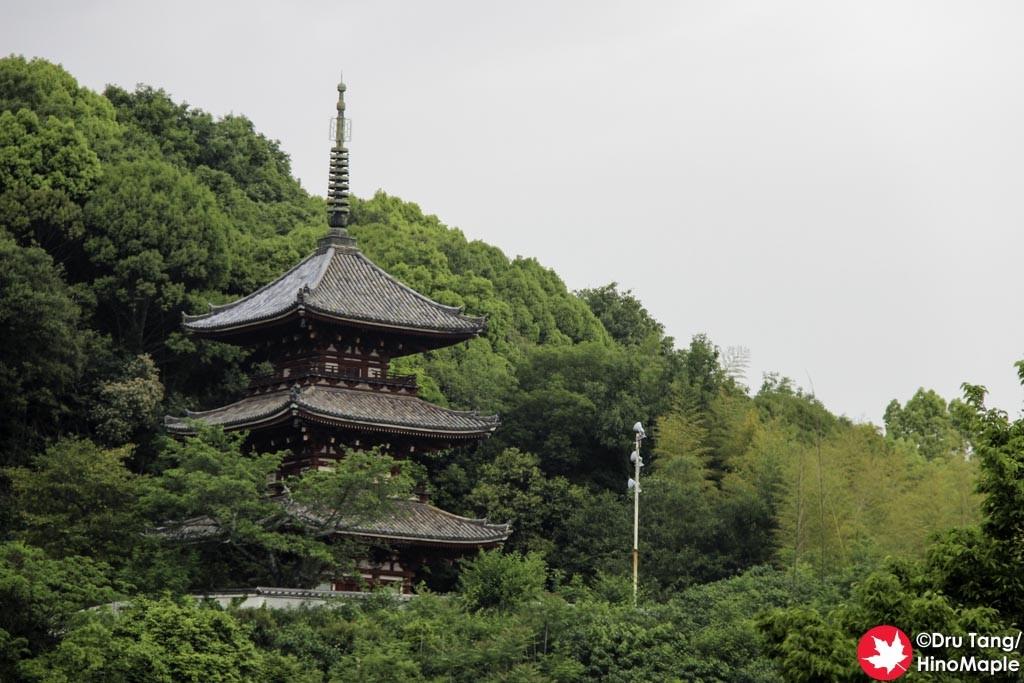 Pagoda at Saikokuji