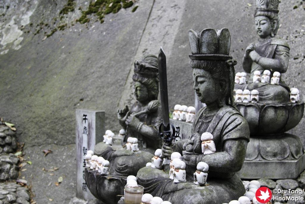 Statues at Senkoji