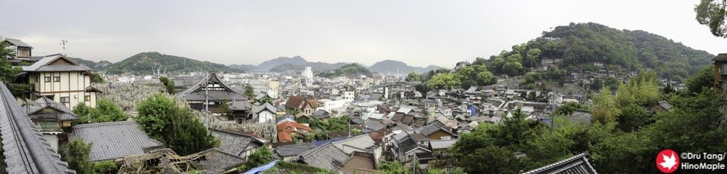 View from Taisanji