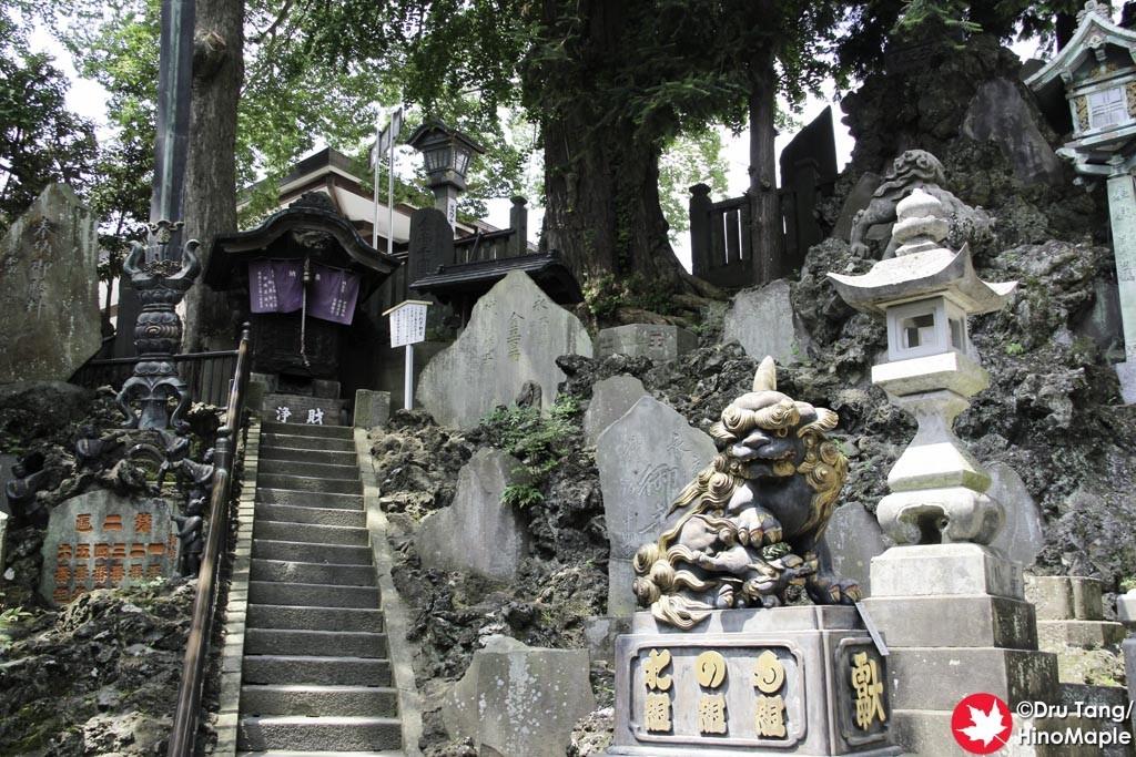 Pond and Tablets at the base of Naritasan