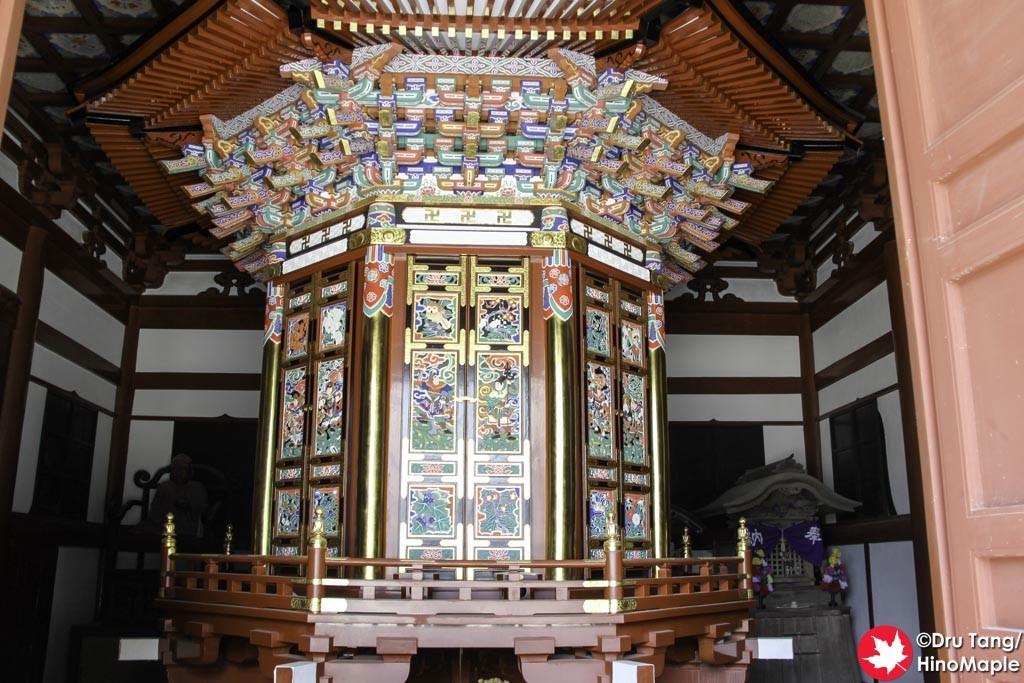 Inside a small Building at Naritasan