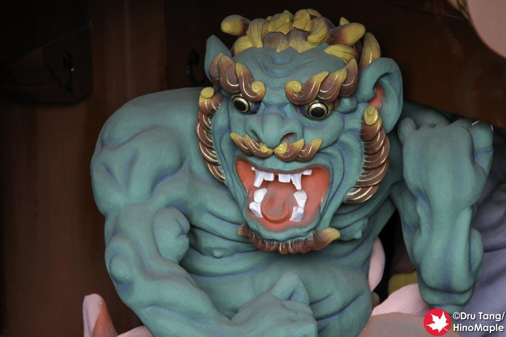 Protector at Naritasan