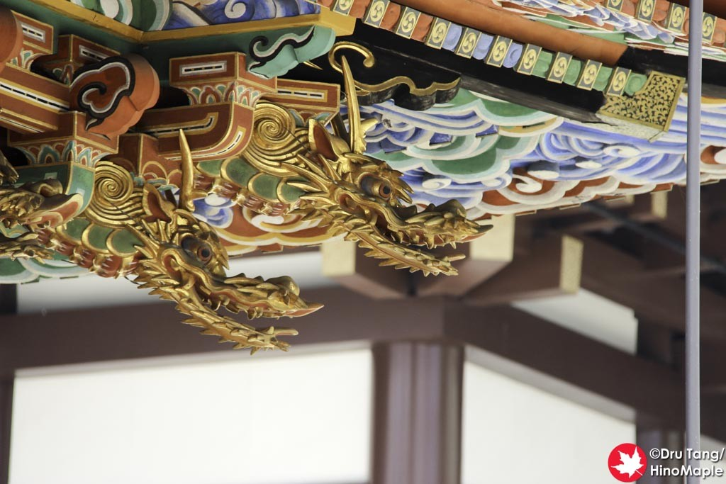 Detailed Sculptures at Naritasan