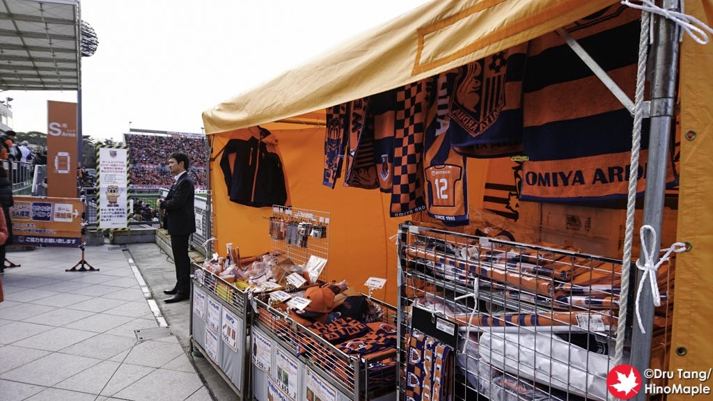 Merchandise at the Stadium