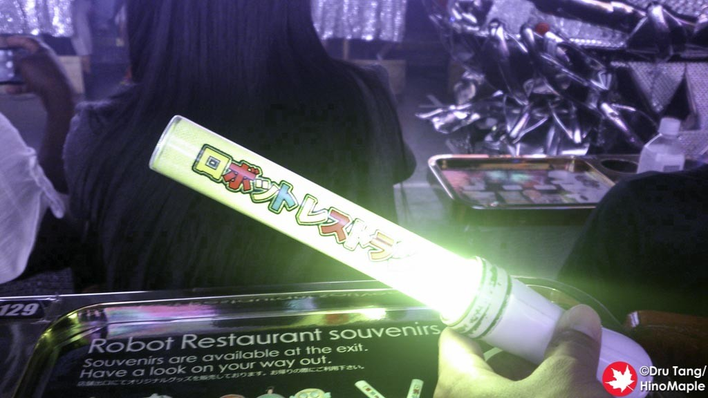 Light Stick for the last 2 Acts