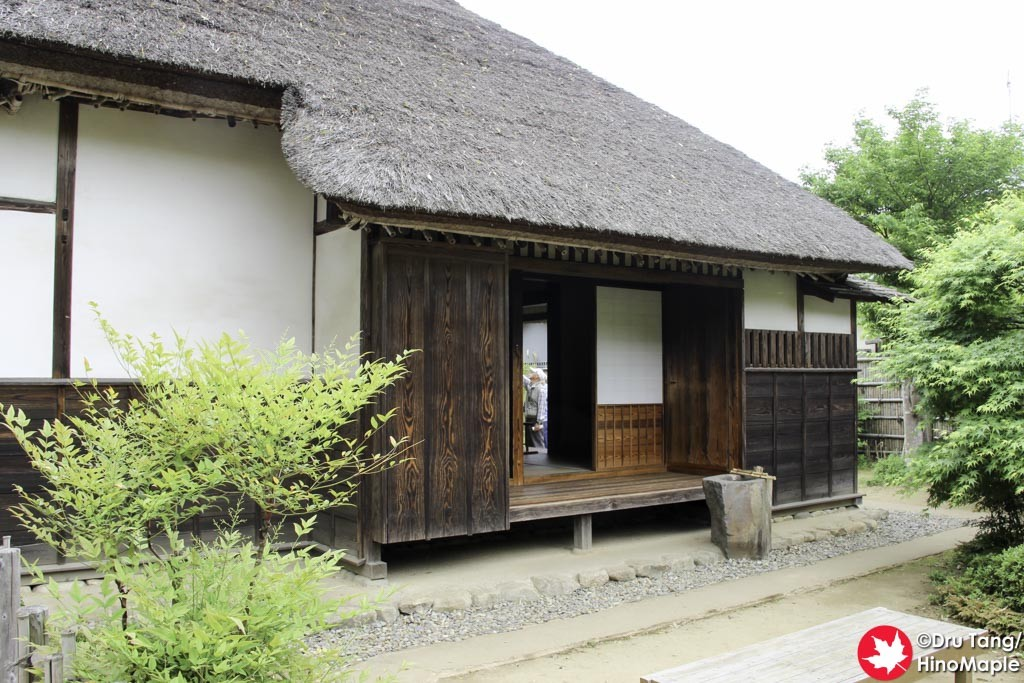 Samurai House in Sakura City