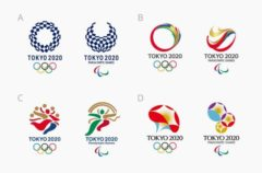Four 2020 Tokyo Olympic Logo Finalists