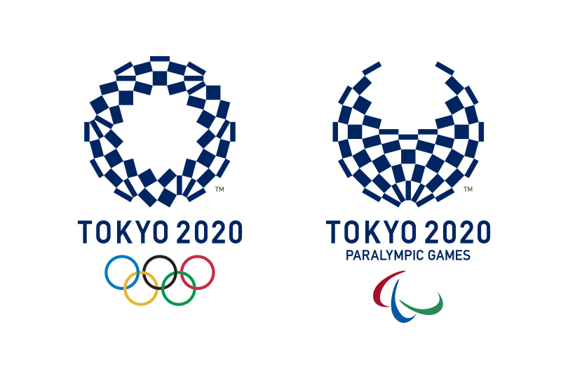 Official 2020 Tokyo Olympic and Paralympic Logos