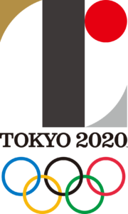 Original 2020 Tokyo Olympic Logo by Kenjiro Sano