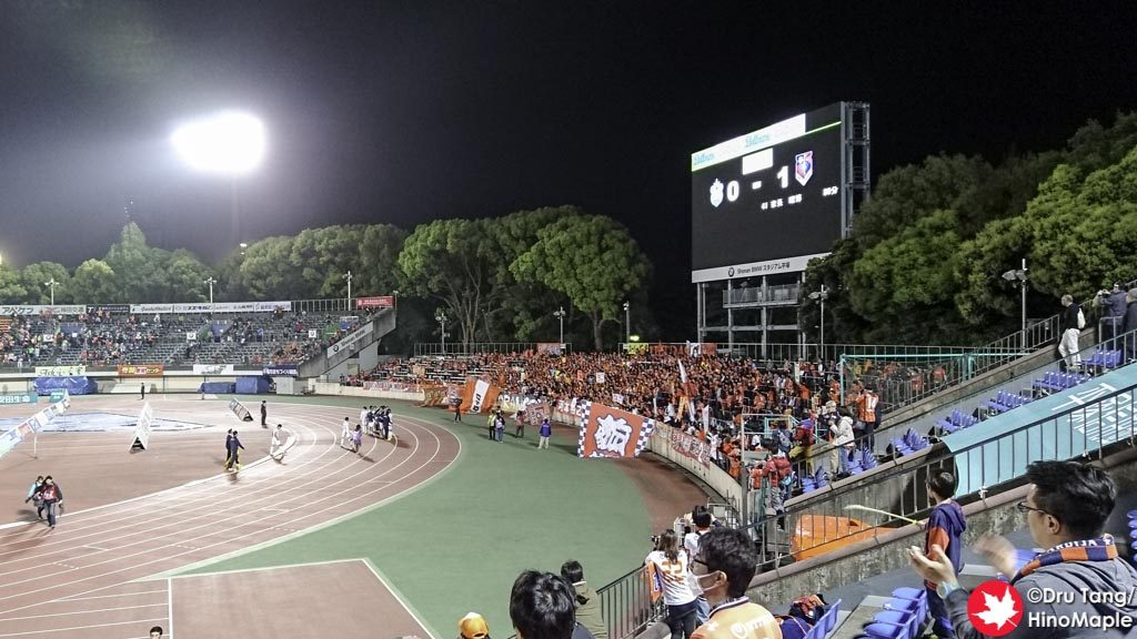 Victory Song for Omiya Ardija Fans (Note: They all crowded together to sing)