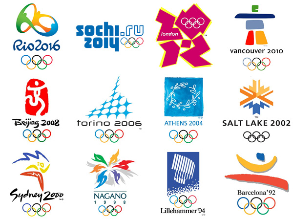 Past Olympic Logos (Source: http://www.mothandrust.se/wp-content/uploads/2012/07/olympic-logos-from-1924-to-2016.jpeg)