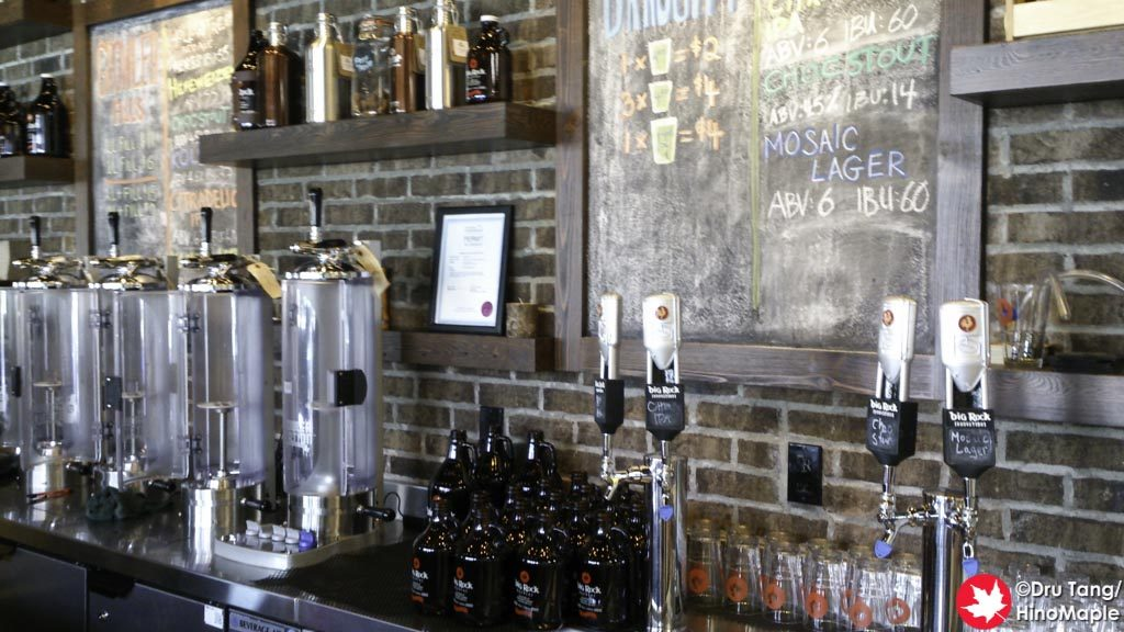 Big Rock Urban: Growler Room