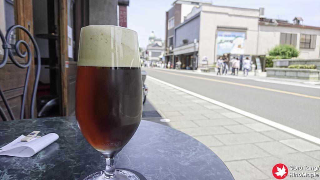 Coedo Beer (Beniaka) at the Art Cafe Elevato