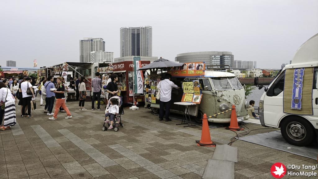 Food Trucks at the Nihon Wine Festival