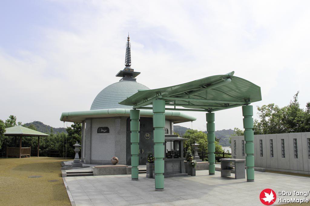 Temple on Oshima