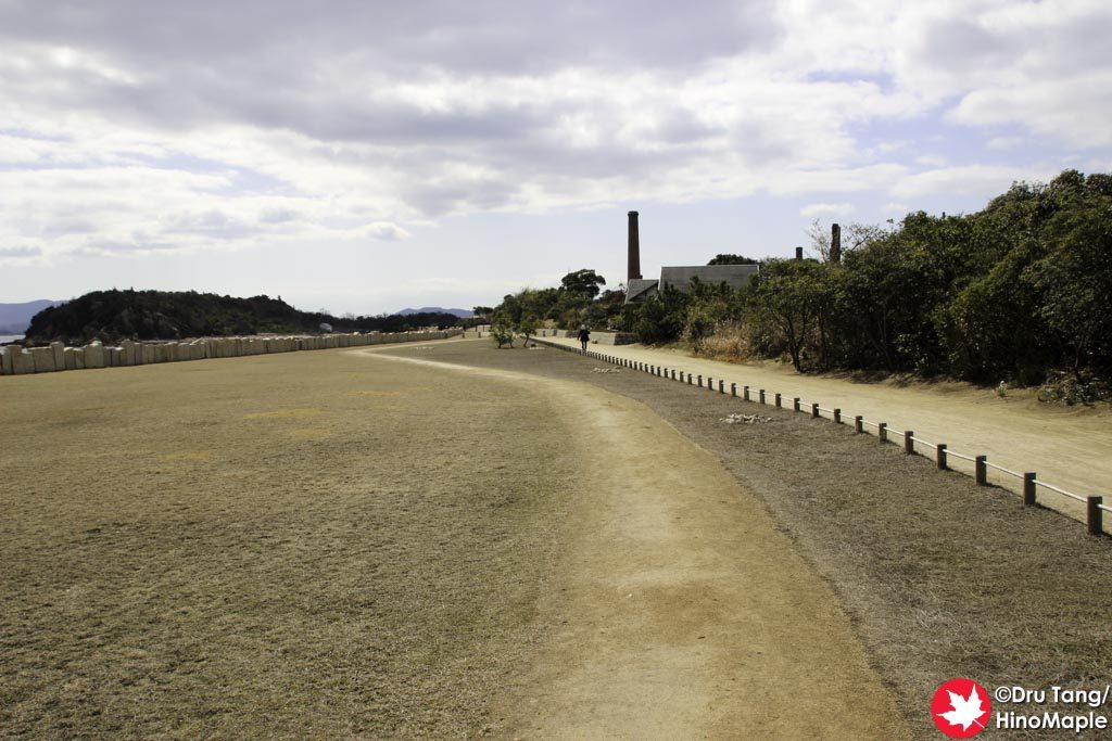 Walking on Inujima