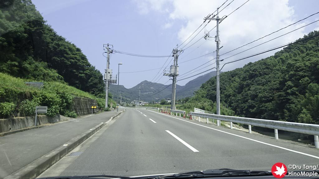 Driving on Shodoshima