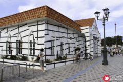 JR Uno Port Line Art Project