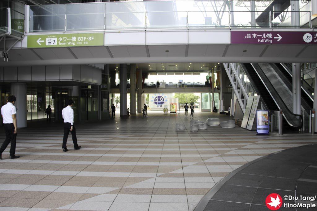 Maritime Plaza (Between JR Takamatsu Station and the Setouchi Triennale Information Centre)