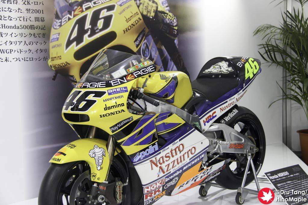 Valentino Rossi's NSR500
