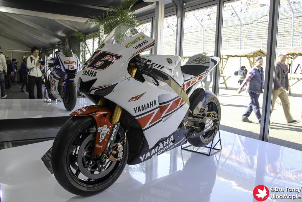 Valentino Rossi's Yamaha M1