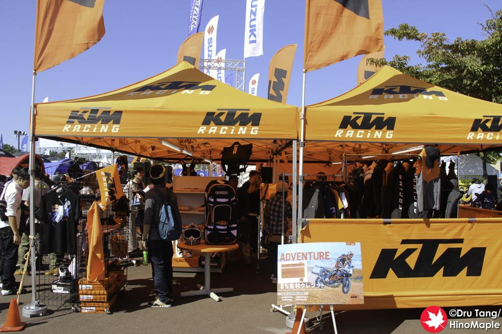 KTM's Booth