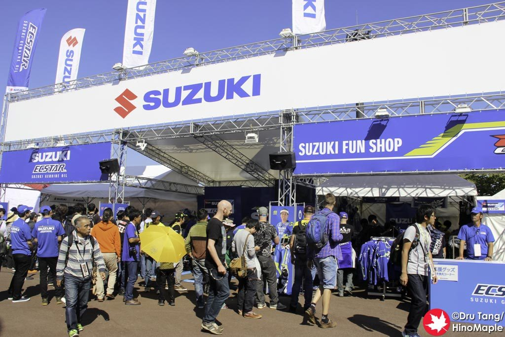 Suzuki's Booth
