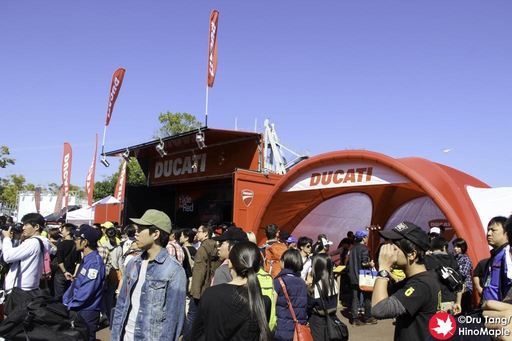 Ducati's Booth