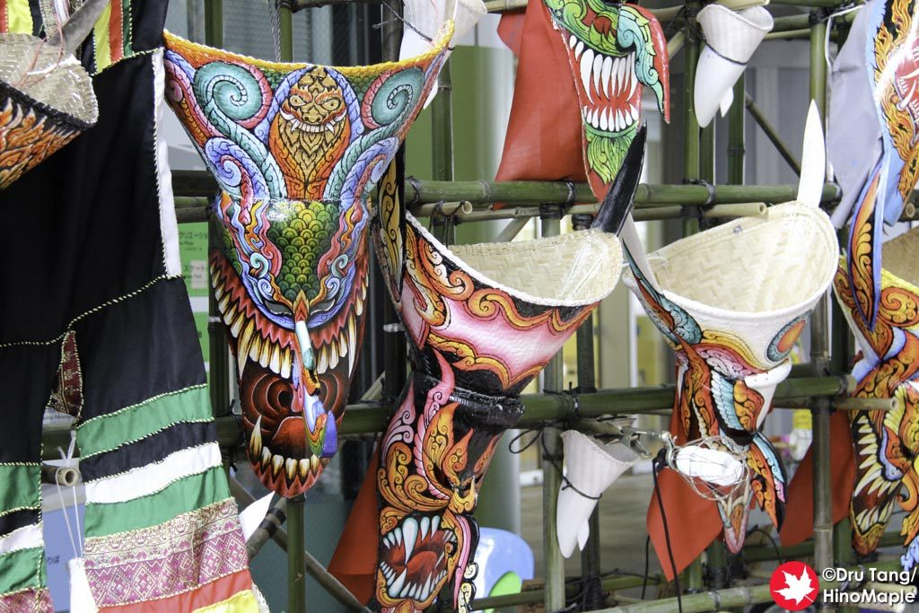 Masks at the Thai Factory Market
