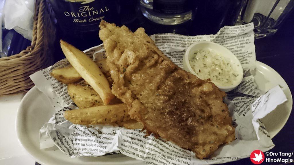 Fish and Chips at the Craic