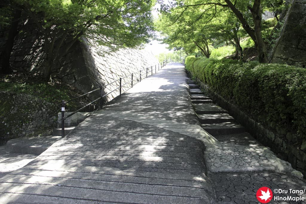 Main Entrance to Marugame Castle
