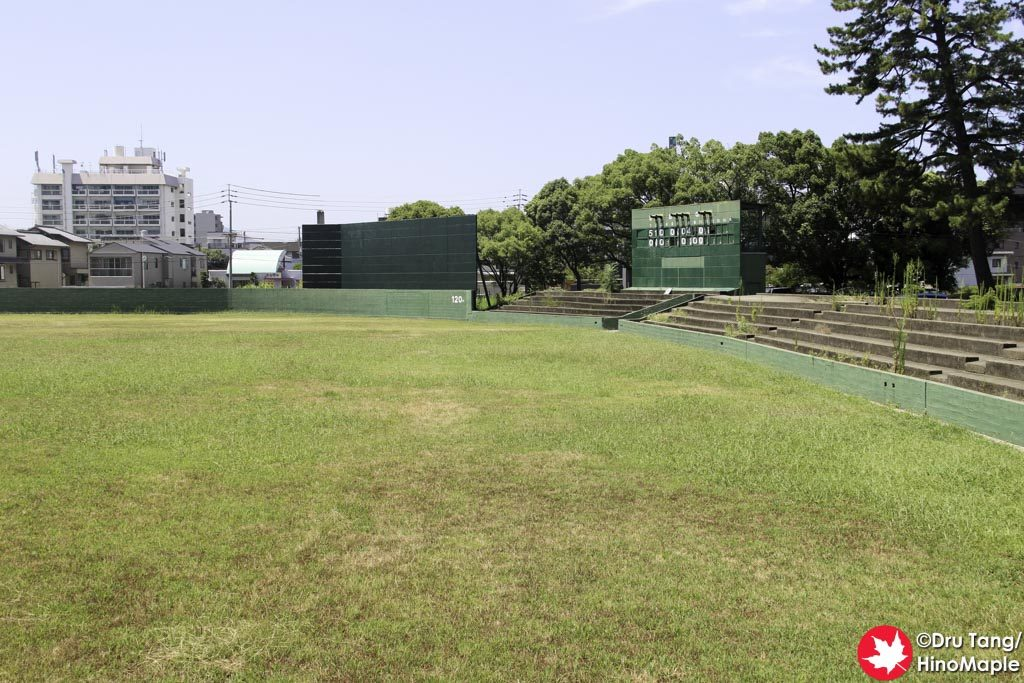 Abandoned Baseball Field at Marugame Castle
