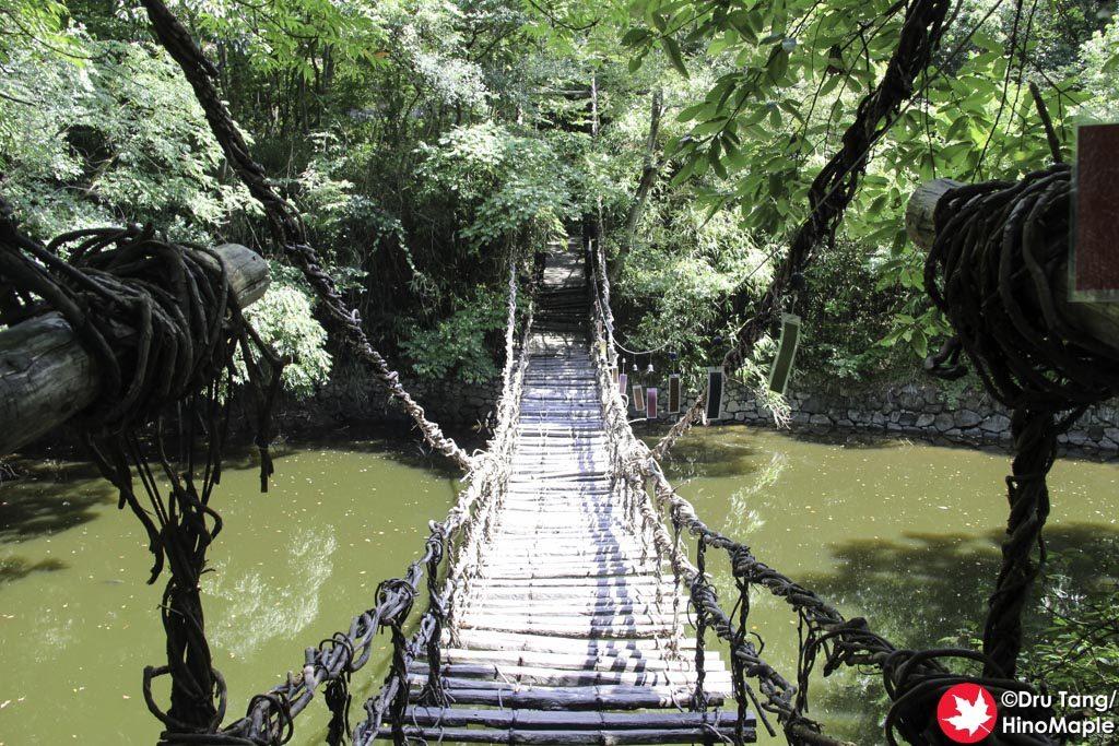Vine Bridge at Shikoku Mura