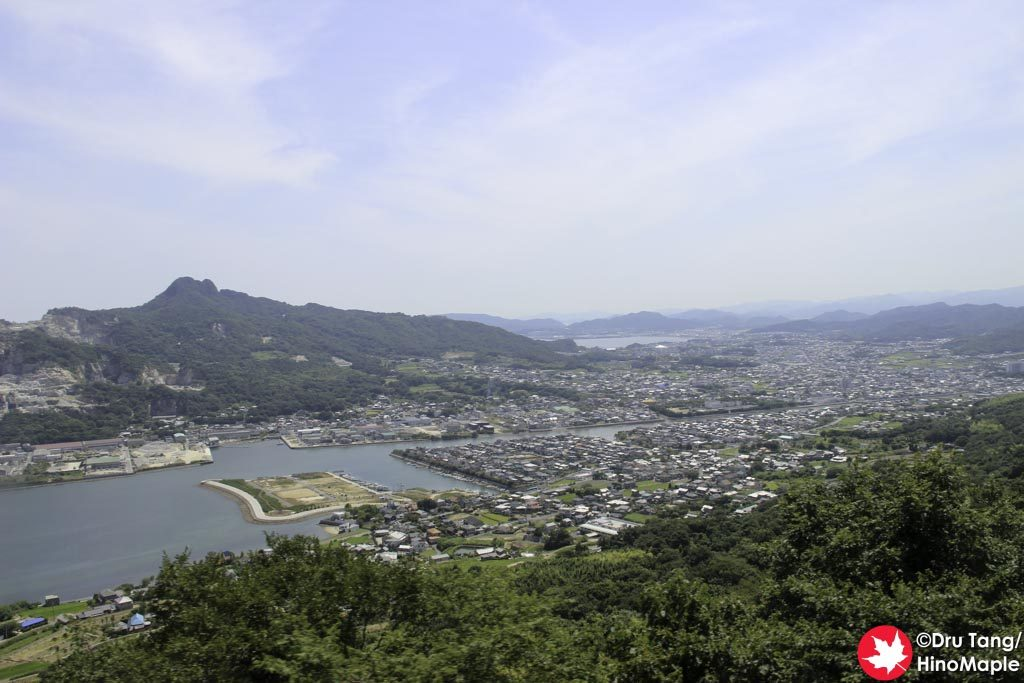 View on the road up Yashima