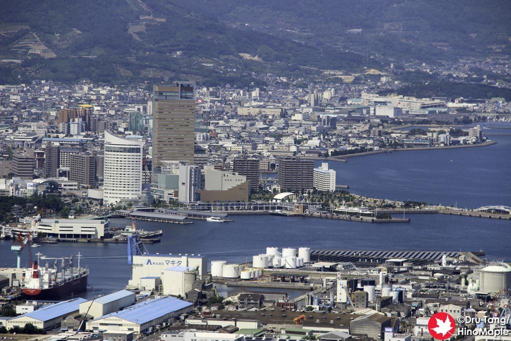 Takamatsu from the West Side of Yashima