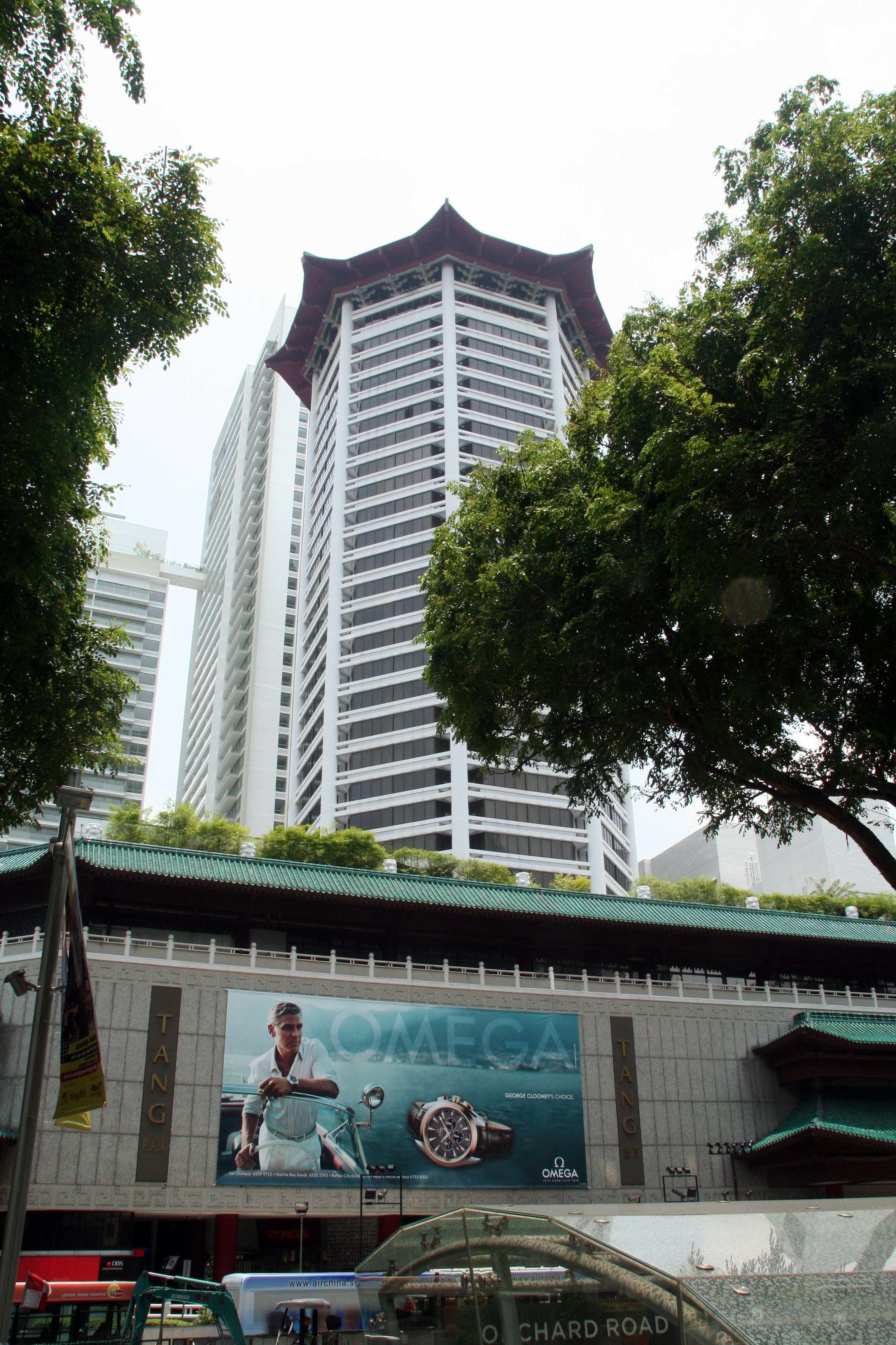 Marriott Hotel and Tangs Department Store