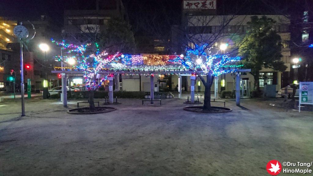 Sumida Hokusai Museum - Christmas 2018